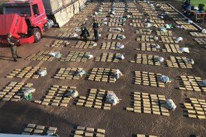Gendarmería y Prefectura secuestraron más de siete toneladas de marihuana en Misiones