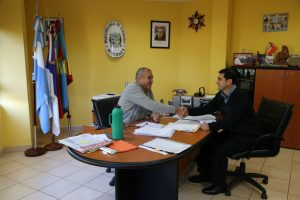 Se inició la transición: Aguirre recibió a Martínez para analizar cómo está Eldorado