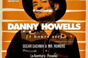 Llega Danny Howells, el más rocker de los DJs