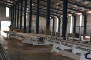 La fábrica de casas de madera comenzará a producir a fin de mes y las primeras se irán a Itaembé Guazú