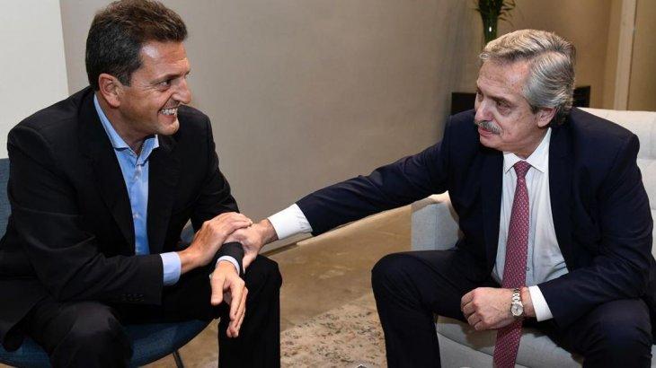 """Sergio Massa acordó con Alberto Fernández la creación del frente peronista """"Todos"""""""