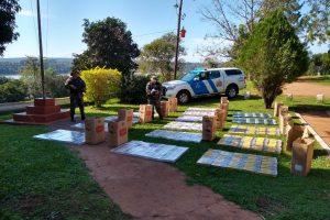 Prefectura interceptó un cargamento de cigarrillos ilegales valuado en 900 mil pesos