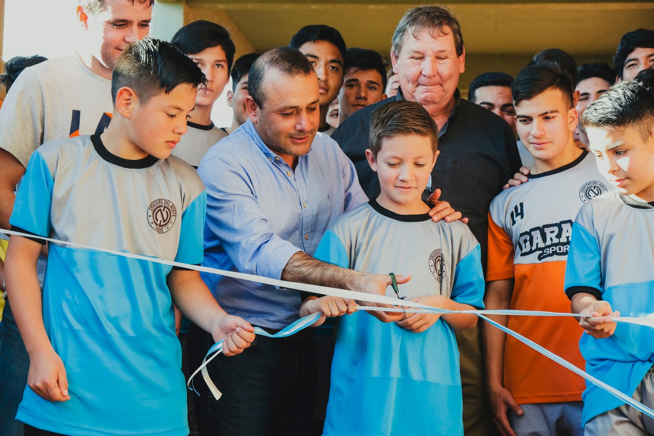 Crucero del Norte inauguró nuevos albergues deportivos
