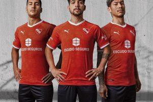 Martín Benítez es la imagen principal de la nueva camiseta de Independiente