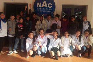 Unos 700 estudiantes participaron de las funciones de Cine Inclusivo en el Paseo La Terminal