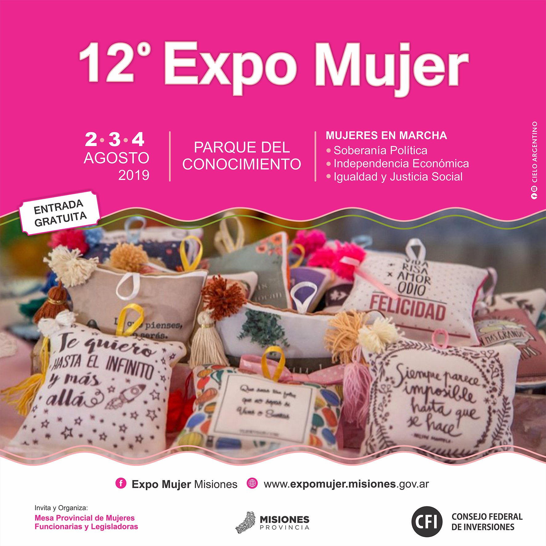 ExpoMujer: las emprendedoras pueden consultar la situación de su inscripción online