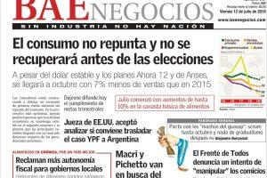 Las tapas del viernes 12: Macri sigue la pelea con los sindicalistas, el paro de transporte golpea a las provincias