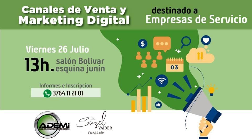 Capacitarán sobre ventas y marketing digital para servicios profesionales en Posadas