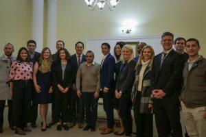 Jóvenes líderes de Estados Unidos fueron recibidos por Herrera Ahuad