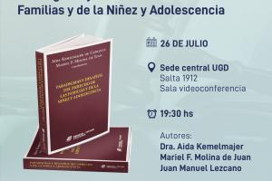 Aida Kemelmajer presentará su último libro en la UGD
