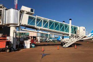 Comenzará a operar la primera manga para embarque del aeropuerto de Iguazú