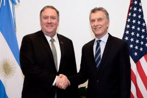 Macri recibió a Michael Pompeo, quien elogió al país por la lucha contra el terrorismo