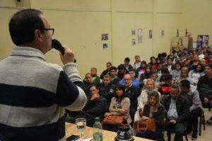 """Sartori: """"En política no se eligen los cargos, sino las ganas de trabajar por la gente"""""""