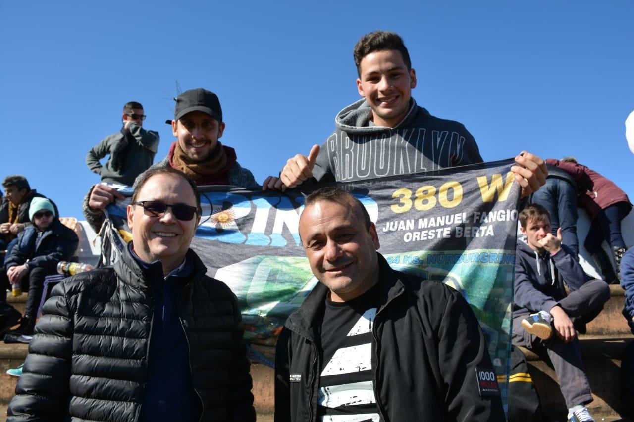 Herrera Ahuad disfrutó de una jornada a puro TC junto con Diego Sartori