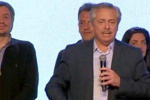 """Alberto Fernández: """"Conmigo la grieta se terminó para siempre y la venganza también"""""""