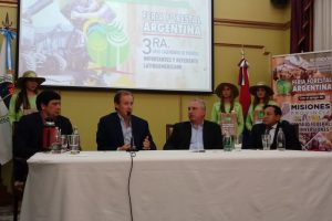 Passalacqua y Bordet presentaron la Feria Forestal Argentina