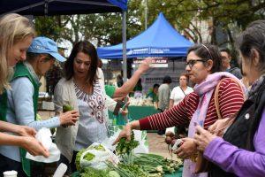 Productores presentaron la fiesta de las Ferias Francas y concretaron ventas por 240 mil pesos