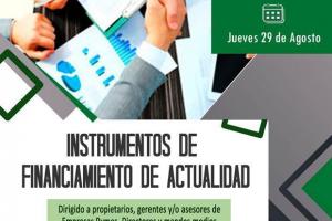 """La CEM capacita sobre """"Instrumentos de Financiamiento de Actualidad"""""""