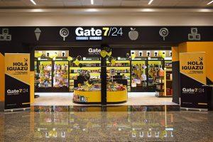 """El aeropuerto Carlos Krause cada vez más """"top"""": abrió la exclusiva tienda Gate 7/24 en el sector de check in"""