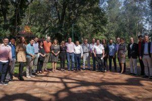 Passalacqua y Herrera Ahuad compartieron reunión de trabajo con las autoridades de la UNaM