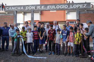 Passalacqua inauguró el estadio municipal de Corpus