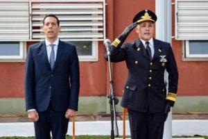 Marcelo Pérez, acompañó el acto Aniversario de la  Fuerza Aérea Argentina
