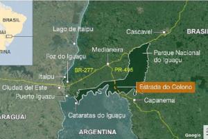 """Brasil: buscan reabrir la """"Estrada do colono"""" la ruta que atraviesa el Parque do Iguaçu"""