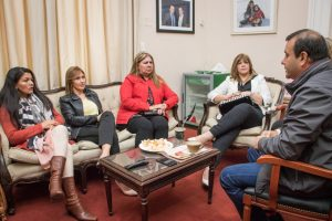 Herrera Ahuad se reunió con intendentas y pidió redoblar el esfuerzo político de cara a octubre