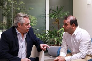 Herrera Ahuad se reunió con Alberto Fernández de cara a octubre