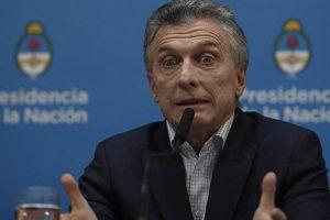 Sin autocrítica, Macri culpó a la oposición por la crisis financiera