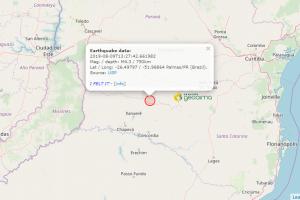 ¿Un terremoto a 200 kilómetros de Misiones?