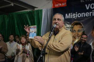"""""""La Renovación resume su doctrina en una sola palabra: misionerismo"""", enfatizó Passalacqua en cierre de campaña"""