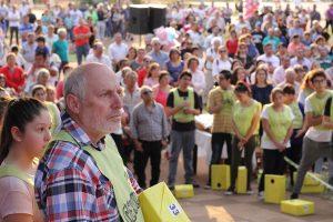 Signo del momento: miles de fieles pidieron por trabajo a San Cayetano