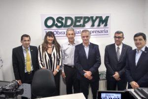 El Vicegobernador electo participó de la inauguración de  una sucursal de OSDEPYM en Oberá