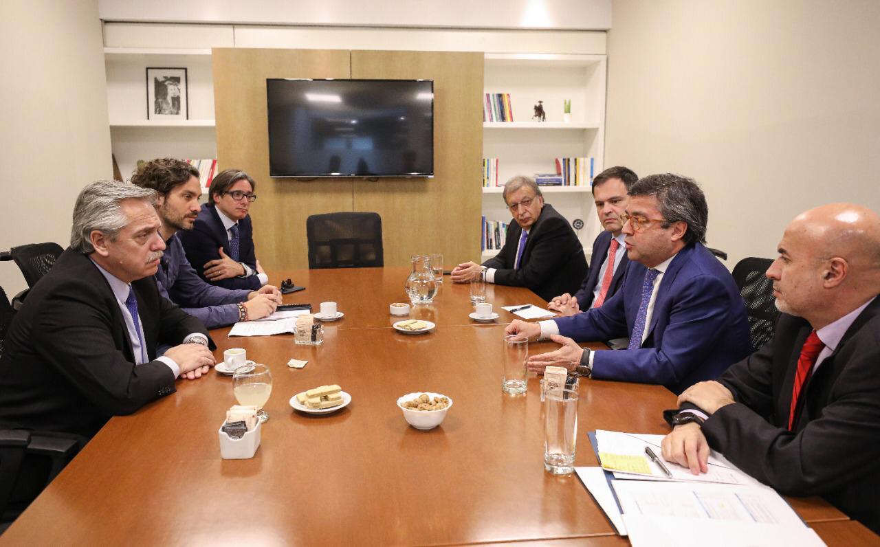 Alberto Fernández recibió al BID para analizar el rumbo de la economía