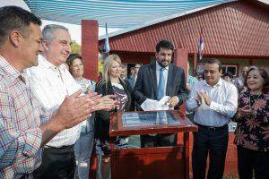 Passalacqua, Herrera Ahuad y Froilán Zarza inauguraron juzgado en San Pedro