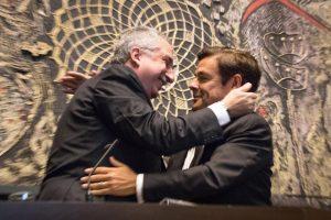 """""""Es profunda mi gratitud al Presidente de la Legislatura, Carlos Rovira, en estos cuatro años de gestión de Gobierno"""", recalcó Passalacqua"""