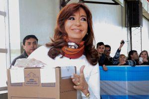 "Cristina Kirchner dijo que es una jornada ""importante para la democracia"""