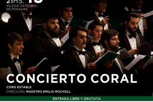 Música coral argentina en la Catedral