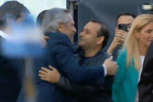 """""""El abrazo de la esperanza"""", dijo Herrera Ahuad de su encuentro con Alberto Fernández"""