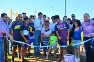 Presupuesto Participativo: Losada inauguró las obras de los barrios San Juan Evangelista y San Jorge