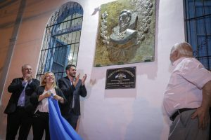 """Passalacqua participó de la inauguración del salón """"San Martín-Enrique Federico Gentiluomo"""""""