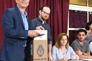 """Macri: """"Todos entendemos que esta es una elección histórica para nuestro país"""""""
