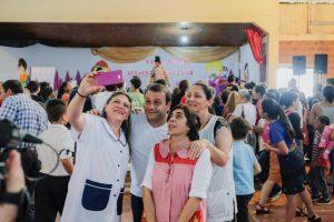Herrera encabezó el operativo Barrios Activos en Colonia 7 Estrellas