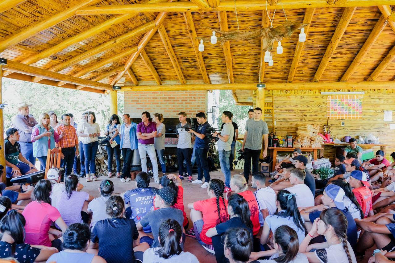 Herrera Ahuad visitó complejo de UDPM y anunció que en enero estará listo el del Yabebirí