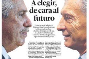 Las tapas del domingo: Cómo refleja cada diario otro día histórico para la Argentina