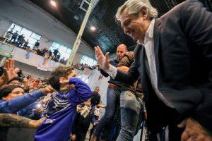 """Alberto Fernández: """"No sé que va a dejar Macri pero estaría bueno que colabore para no hacer todo más difícil"""""""