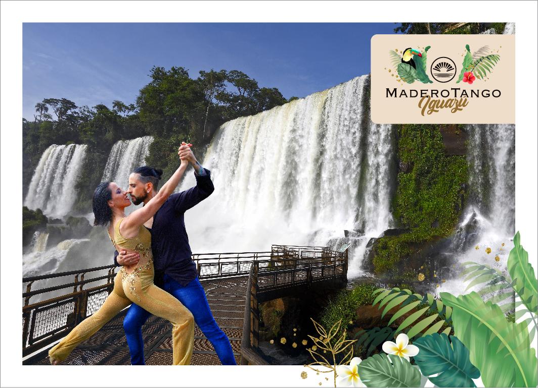Las Cataratas del Iguazú suman un nuevo espectáculo para turistas: el tango