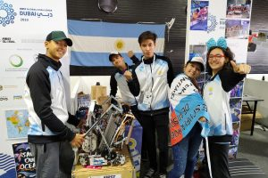 Argentina quedó entre los mejores del mundial de Robótica en Dubai