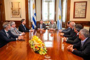 """Alberto Fernández: """"Argentina y Uruguay están obligados a tener el mejor vínculo"""""""